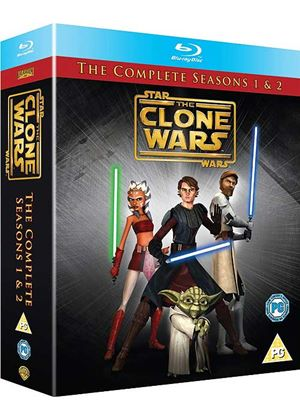 Star Wars - The Clone Wars - Series 1-2 - Complete (Blu-Ray)
