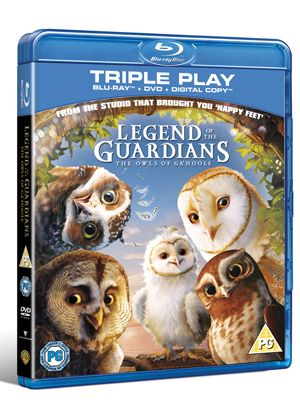 Legend Of The Guardians - The Owls Of Ga'hoole - Triple Play (Blu-ray, DVD, Digital Copy)