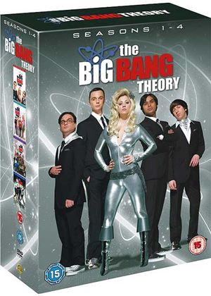 The Big Bang Theory - Season 1-4 Complete