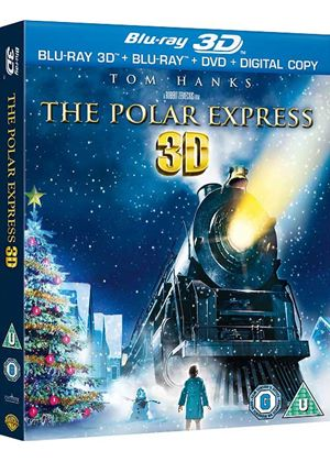 Polar Express 3D (Blu-ray 3D + Blu-ray + DVD + Digital Copy)