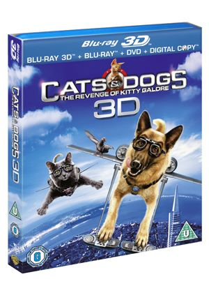 Cats And Dogs - The Revenge Of Kitty Galore (3D Blu-ray)