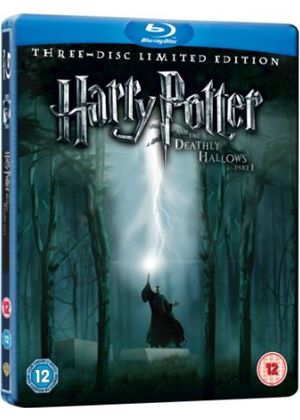 Harry Potter and the Deathly Hallows Part 1 - Triple Play Steelbook (2 Disc Blu-ray + DVD + Digital Copy)
