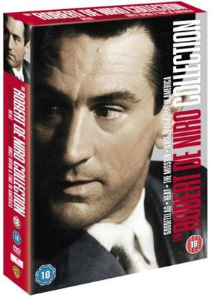 Robert De Niro Collection Once Upon a Time in America/ Heat/ Goodfellas/The Mission.