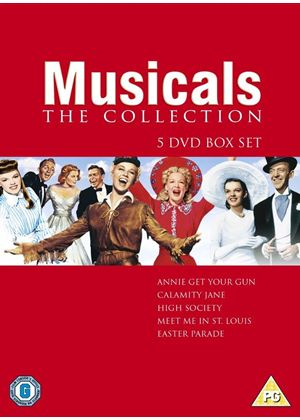 Musical Collection - Annie Get Your Gun / Easter Parade / Calamity Jane / High Society / Meet Me In St Louis