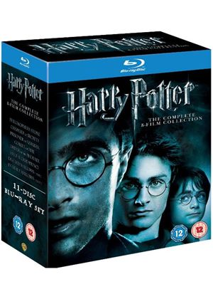 Harry Potter: The Complete 8 Film Collection (Blu-Ray)