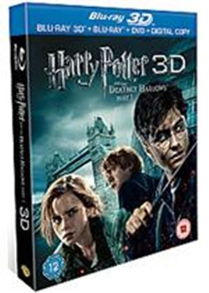 Harry Potter And The Deathly Hallows Part 1 (Blu-ray 3D + Blu-ray + DVD + Digital Copy)