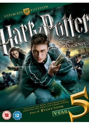 Harry Potter and the Order of the Phoenix : Ultimate Edition - Double Play (Blu-ray + DVD)