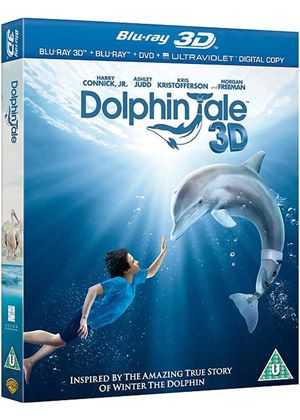 Dolphin Tale (Blu-ray 3D + Blu-ray + DVD + Digital Copy)