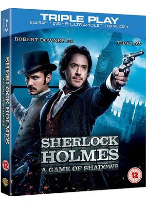 Sherlock Holmes - A Game of Shadows - Triple Play (Blu-ray + DVD + Digital Copy)