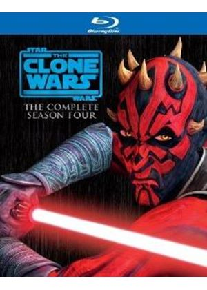 Star Wars: The Clone Wars - The Complete Season Four (Blu-Ray)