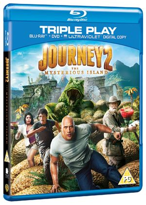 Journey 2: The Mysterious Island - Triple Play (Blu-ray + DVD + Ultra Violet Copy)