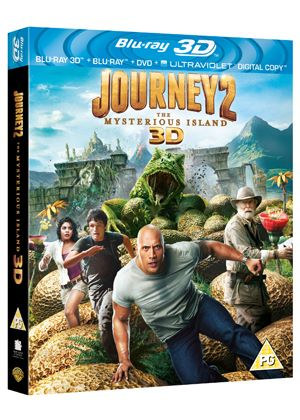 Journey 2: The Mysterious Island (Blu-ray 3D + Blu-ray + Ultra Violet Copy)