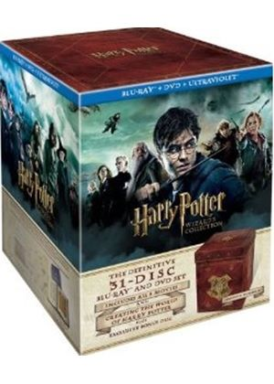 Harry Potter Wizard's Collection Box Set (Blu-Ray + DVD + Digital Copy)