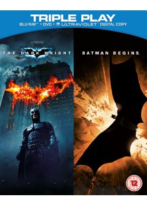 Batman Begins / The Dark Knight (Blu-ray + DVD)