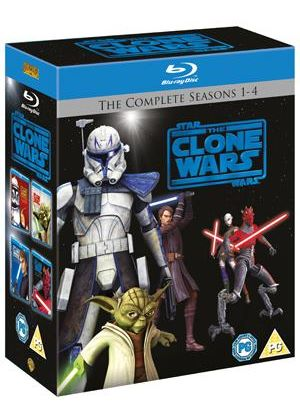 Star Wars - The Clone Wars: Seasons 1-4 (Blu-Ray)