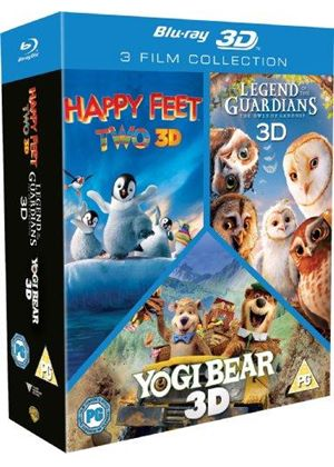 Happy Feet 2/Yogi Bear/Legend Of The Guardians Triple Pack (Blu-ray 3D)