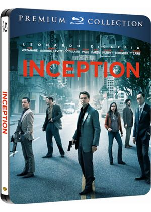 Inception - Premium Collection Steelbook (Blu-ray + UltraViolet Copy)