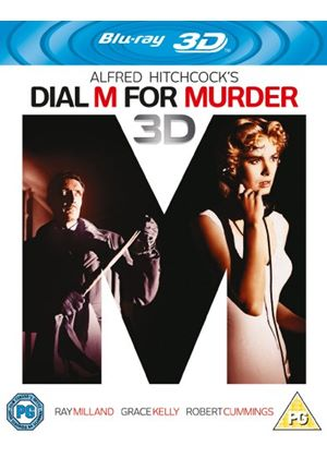Dial M for Murder (Blu-ray 3D + Blu-ray)