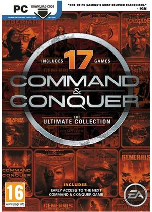 Command and Conquer: The Ultimate Edition (Code In A Box) (PC)