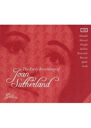 Early Recordings of Joan Sutherland (Music CD)