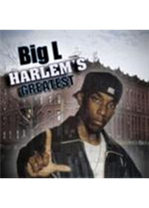 Big L - Harlem's Greatest [PA] (Music CD)