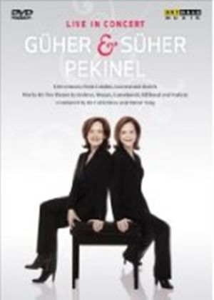 Guher & Suher Pekinel: Live (Works For 2 Pianos By Mozart/ Brahms/ Milhaud/ Poulenc) [DVD] [2009]
