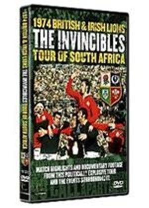 Invincibles - The 1974 Lions Rugby Tour Of South Africa