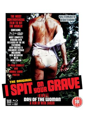 I Spit On Your Grave - Ultimate Dual Format Collector's Edition (Blu-Ray)