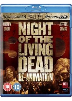 Night Of The Living Dead Re-animation (3D Blu-ray)