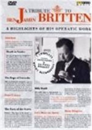 Tribute To Benjamin Britten, A (Eight Discs) (Box Set)