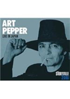Art Pepper - Live In Japan (Live Recording) (Music CD)