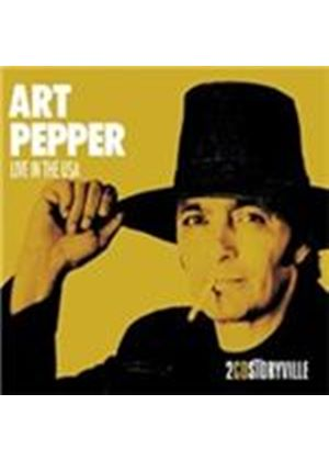 Art Pepper - Live In the USA (Live Recording) (Music CD)