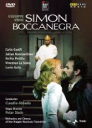 Verdi: Simon Boccanegra (Live Recording From The Teatro Comunale Florence 2002) (DVD) (NTSC)