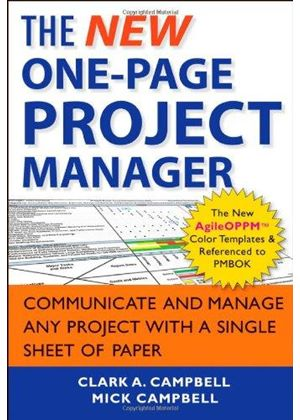 New One-Page Project Manager