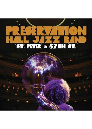 Preservation Hall Jazz Band - St. Peter & 57th St. (Live Recording) (Music CD)