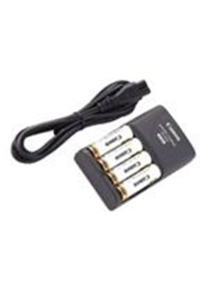 Canon CBK 4-300 - Battery charger 4xAA - included batteries: 4 x AA NiMH