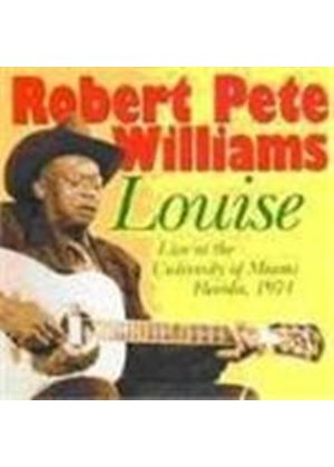 Robert Pete Williams - Live At Louise (Music CD)