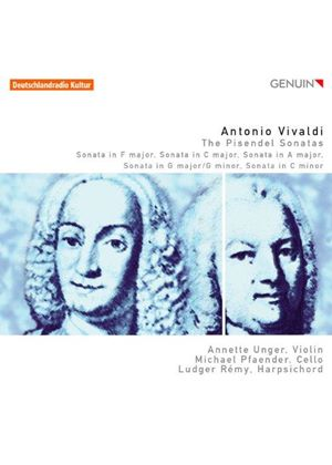 Vivaldi: The Pisendel Sonatas (Music CD)