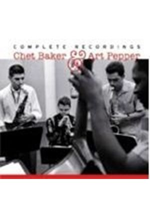 Art Pepper - Chet Baker & Art Pepper (Complete Recordings) (Music CD)