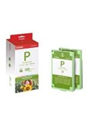 Canon Easy Photo Pack E-P100 - Print ribbon cassette and paper kit - 1