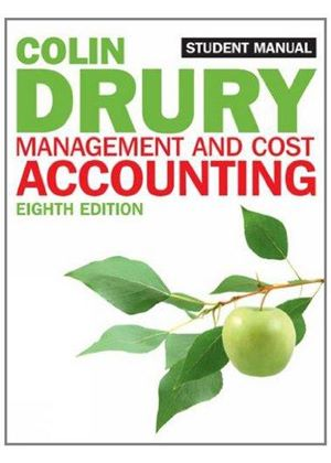 Management & Cost Accounting Student Manual