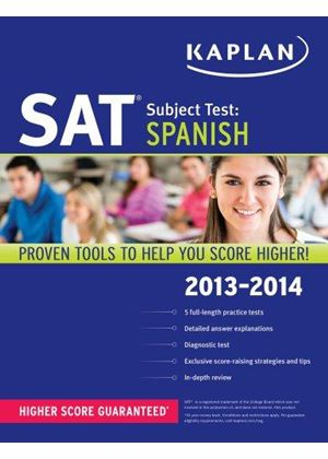 Kaplan Sat Subject Test Spanish
