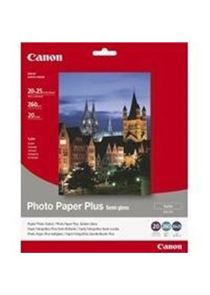 Canon Photo Paper Plus SG-201 - Semi-gloss photo paper - 203 x 254 mm - 260 g/m2 - 20 sheet(s)