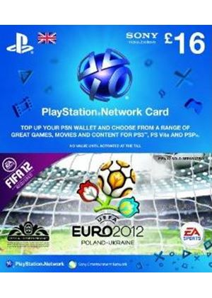 PlayStation Network £16 Card - FIFA 12: UEFA Euro 2012 (PS3)