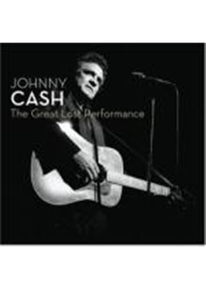 Johnny Cash - The Great Lost Performances (Music CD)