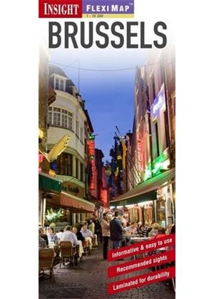 Insight Flexi Map: Brussels