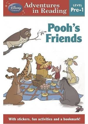 Disney Level Pre-1 For Girls - Winnie The Pooh Poohs Friends