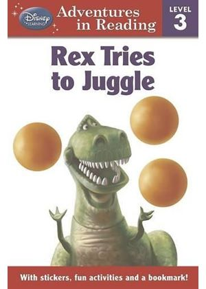 Disney Level 3 For Boys - Toy Story Rex Tries To Juggle