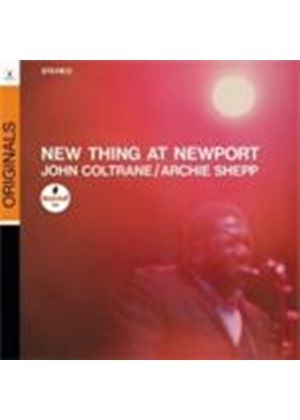 John Coltrane & Archie Shepp - New Thing At Newport (Music CD)