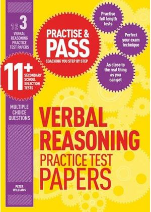 Practise & Pass 11+ Level Three: Verbal Reasoning Practice Test Papers
